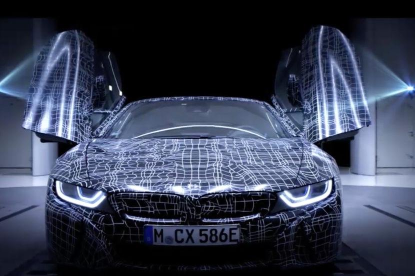 BMW i8 Roadster teaser 830x553