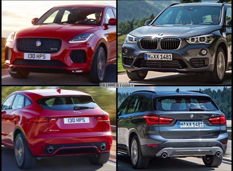 Bild Vergleich BMW X1 F48 Jaguar E PACE 2017 01 750x562 750x553