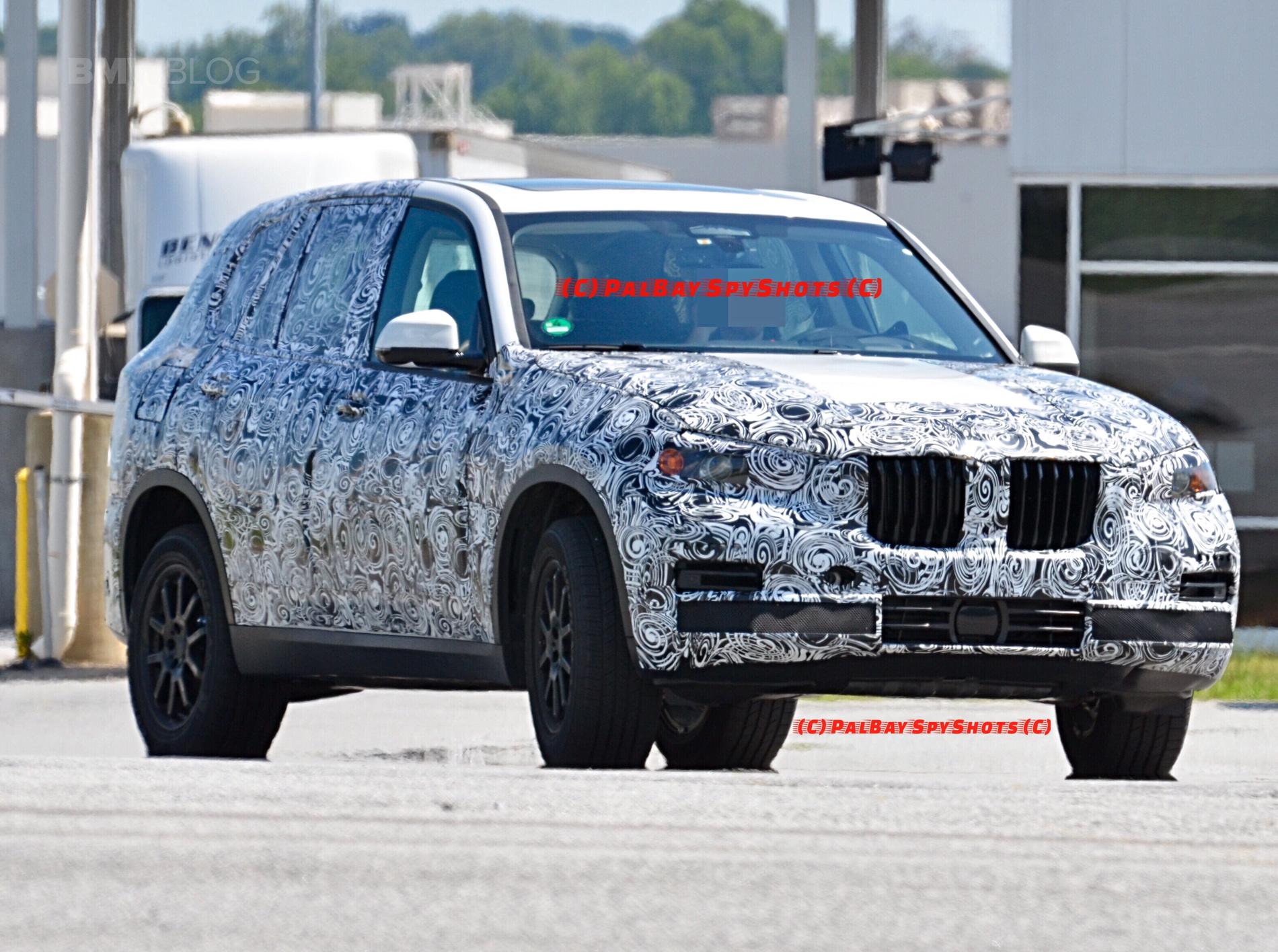 G05 BMW X5 spy photos 07
