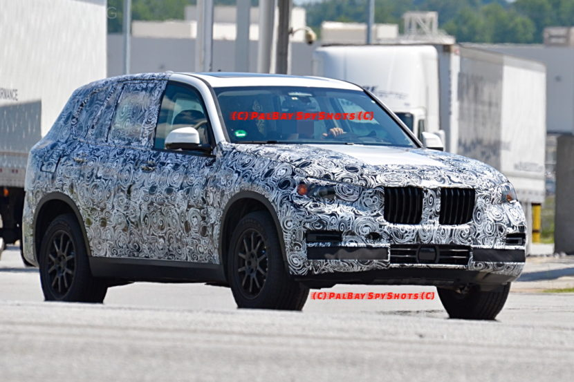 G05 BMW X5 spy photos 08 830x553