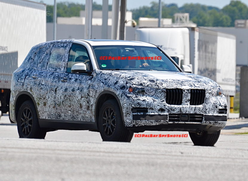 G05 BMW X5 spy photos 08 830x607