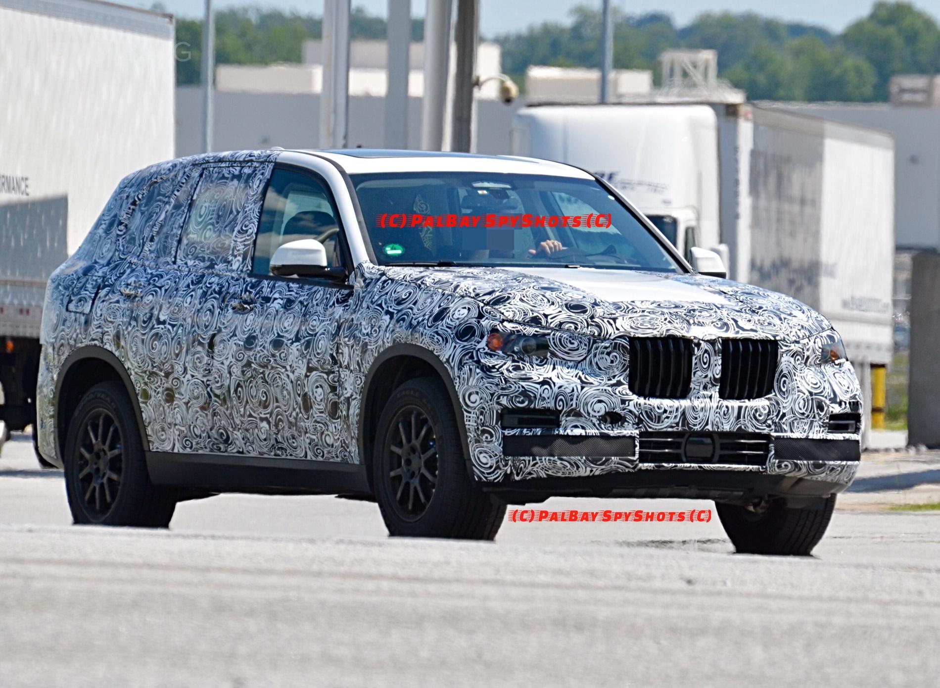 G05 BMW X5 spy photos 08