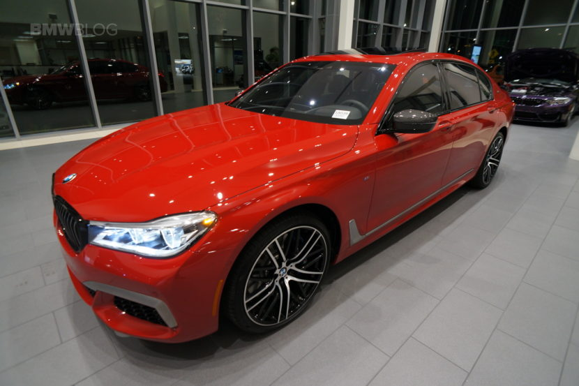 Imola Red BMW M760Li Century West BMW 16 830x553