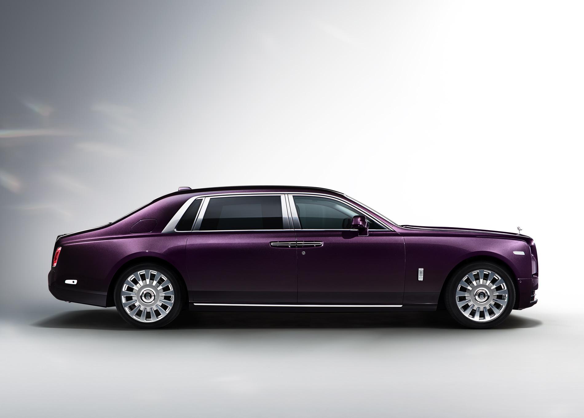 New Rolls Royce Phantom Extended Wheelbase Photo Gallery