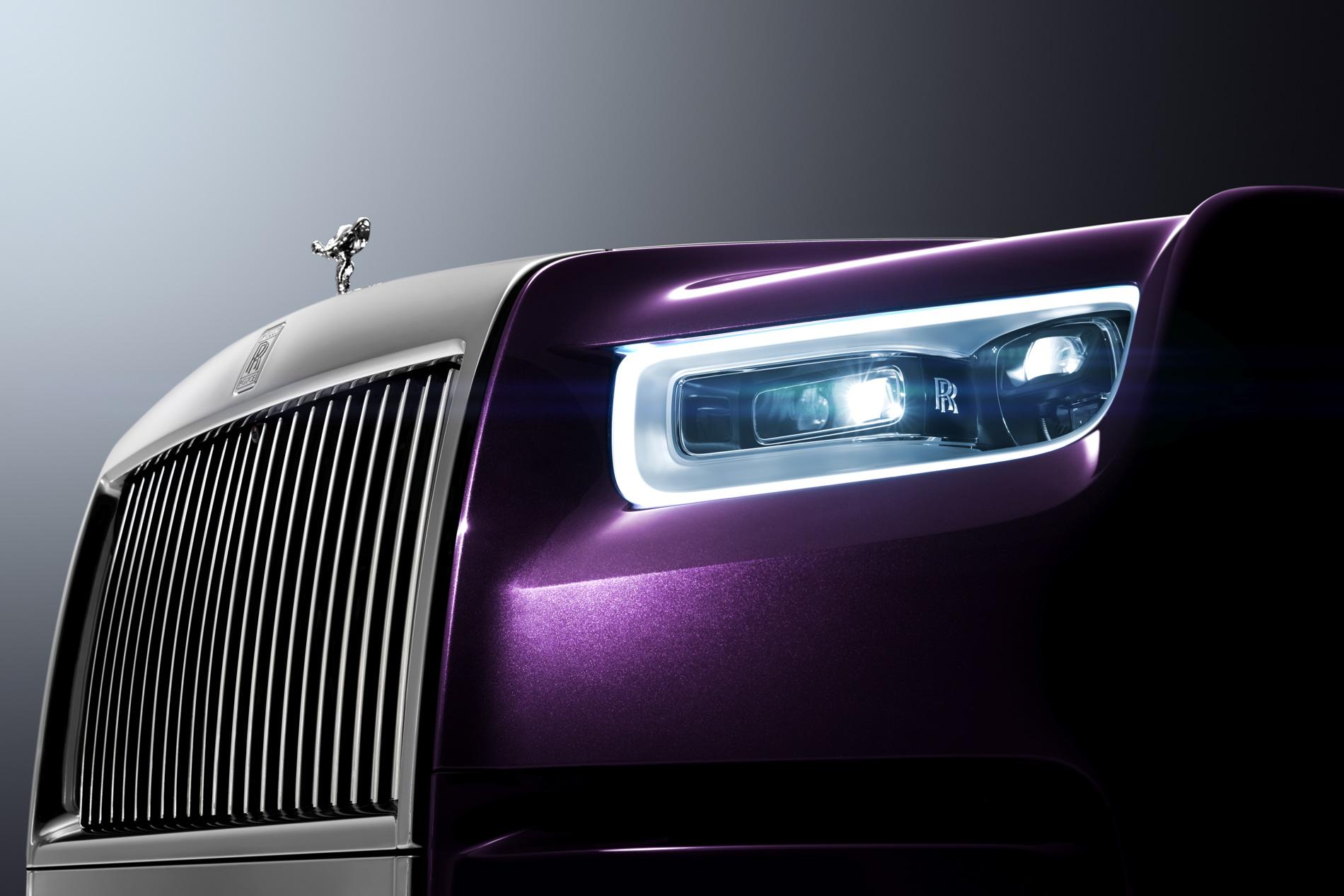 New Rolls Royce Phantom Extended Wheelbase 72