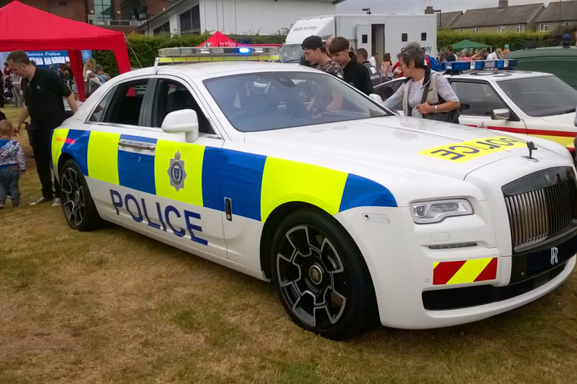 The First Ever Rolls Royce Ghost Police Car Revealed In Sussex