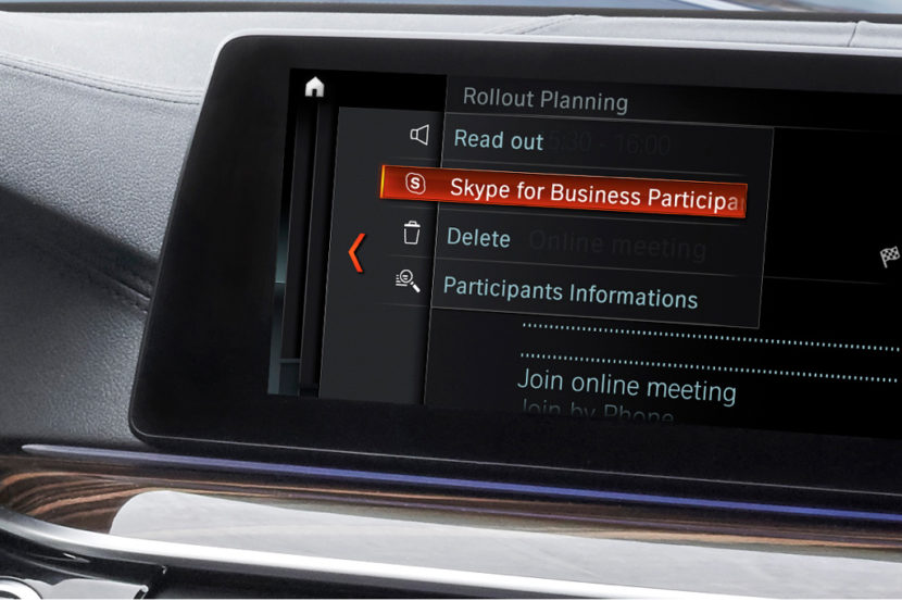 skype for business car bmw 830x553