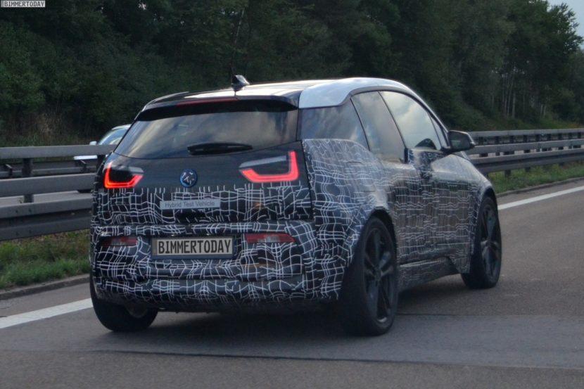 2017 BMW i3 S Facelift I01 LCI Erlkoenig 03 830x553
