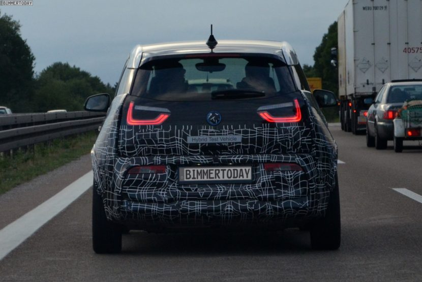 2017 BMW i3 S Facelift I01 LCI Erlkoenig 08 830x555