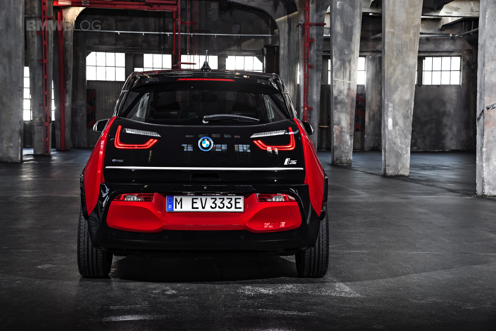From The Outside Its Not That Much Different Than Newly Facelifted BMW I3 It Features All Of Same New Design Cues Shapes And Trim Pieces