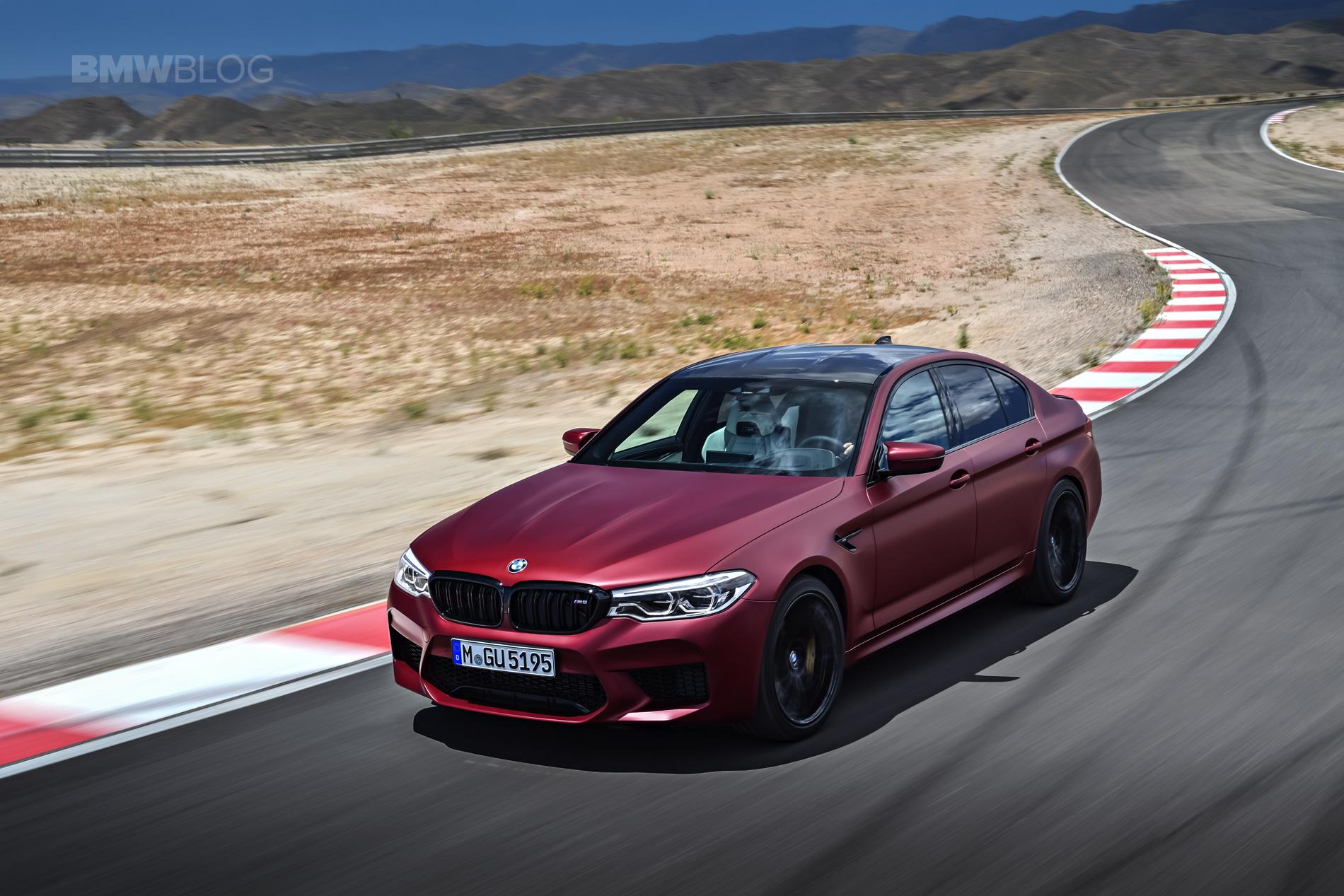 2018 BMW M5 Frozen Dark Red Metallic 02