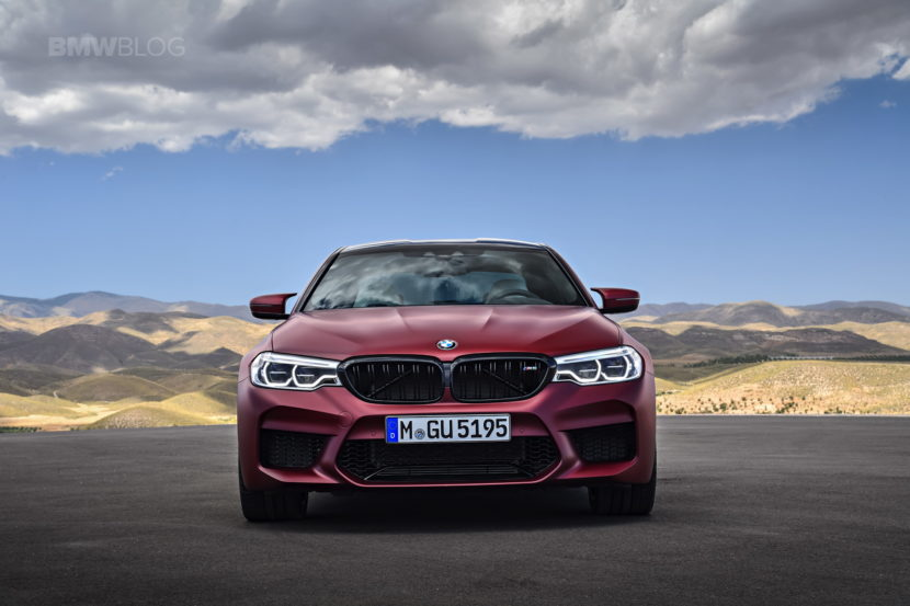 2018 BMW M5 Frozen Dark Red Metallic 05 830x553