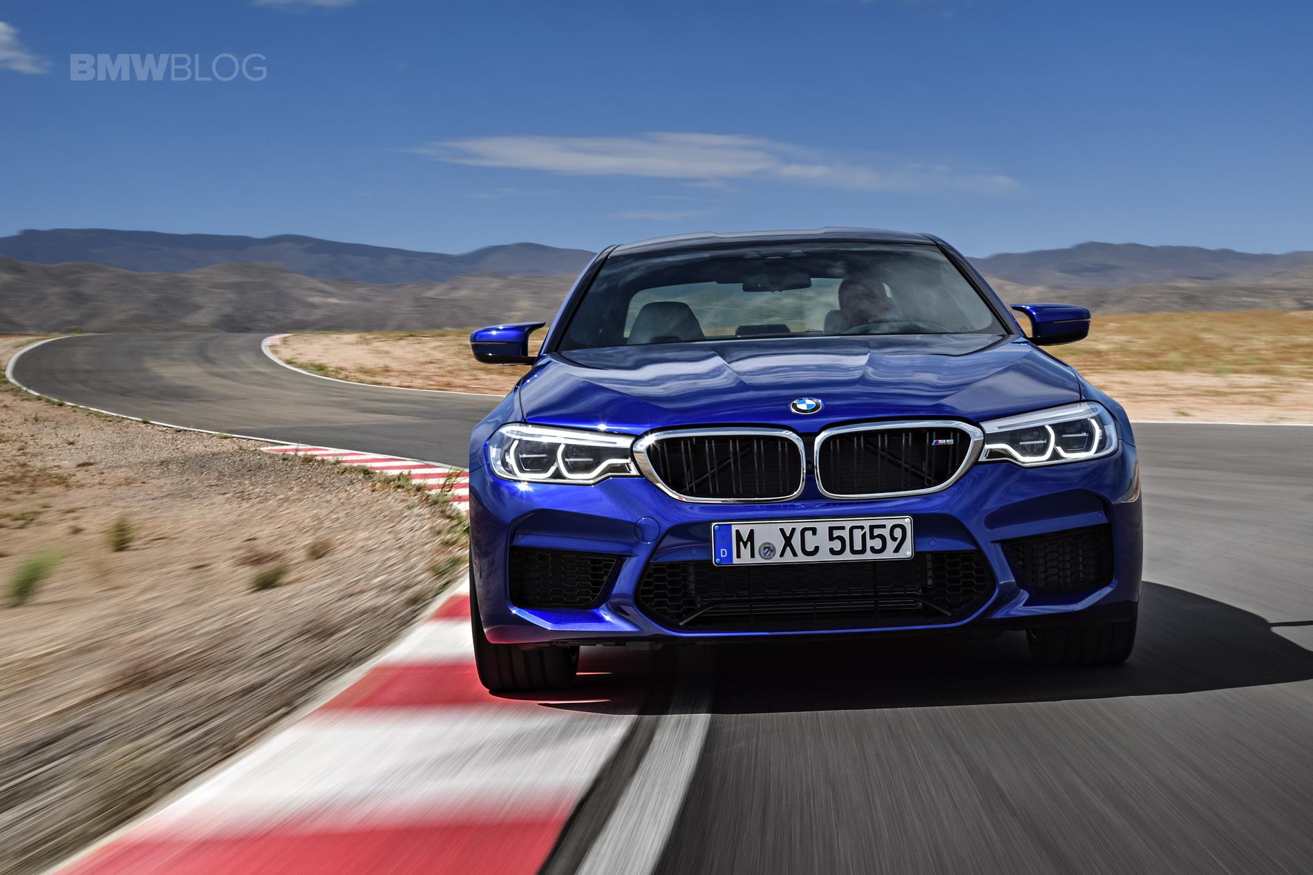 2018 BMW M5 exterior 01