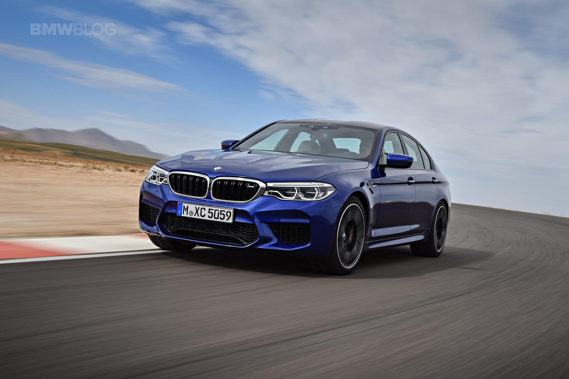 2018 BMW M5 exterior 06