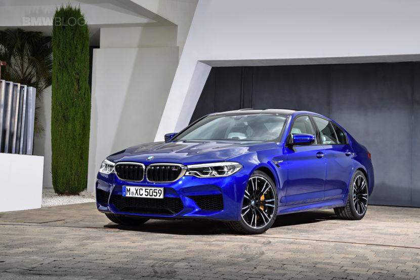 2018 BMW M5 exterior 13 830x553