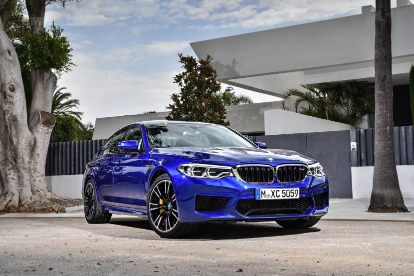 2018 BMW M5 exterior 15 830x553