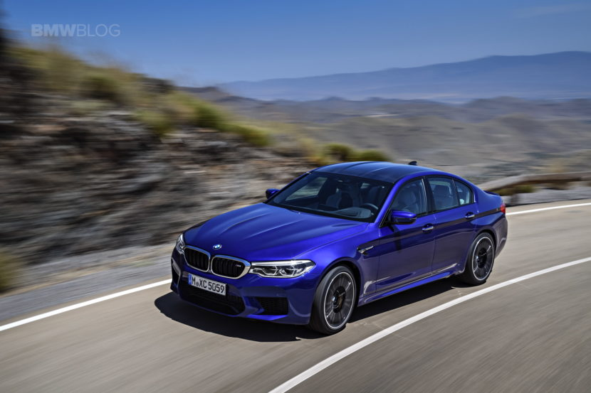 2018 BMW M5 exterior 16 830x553