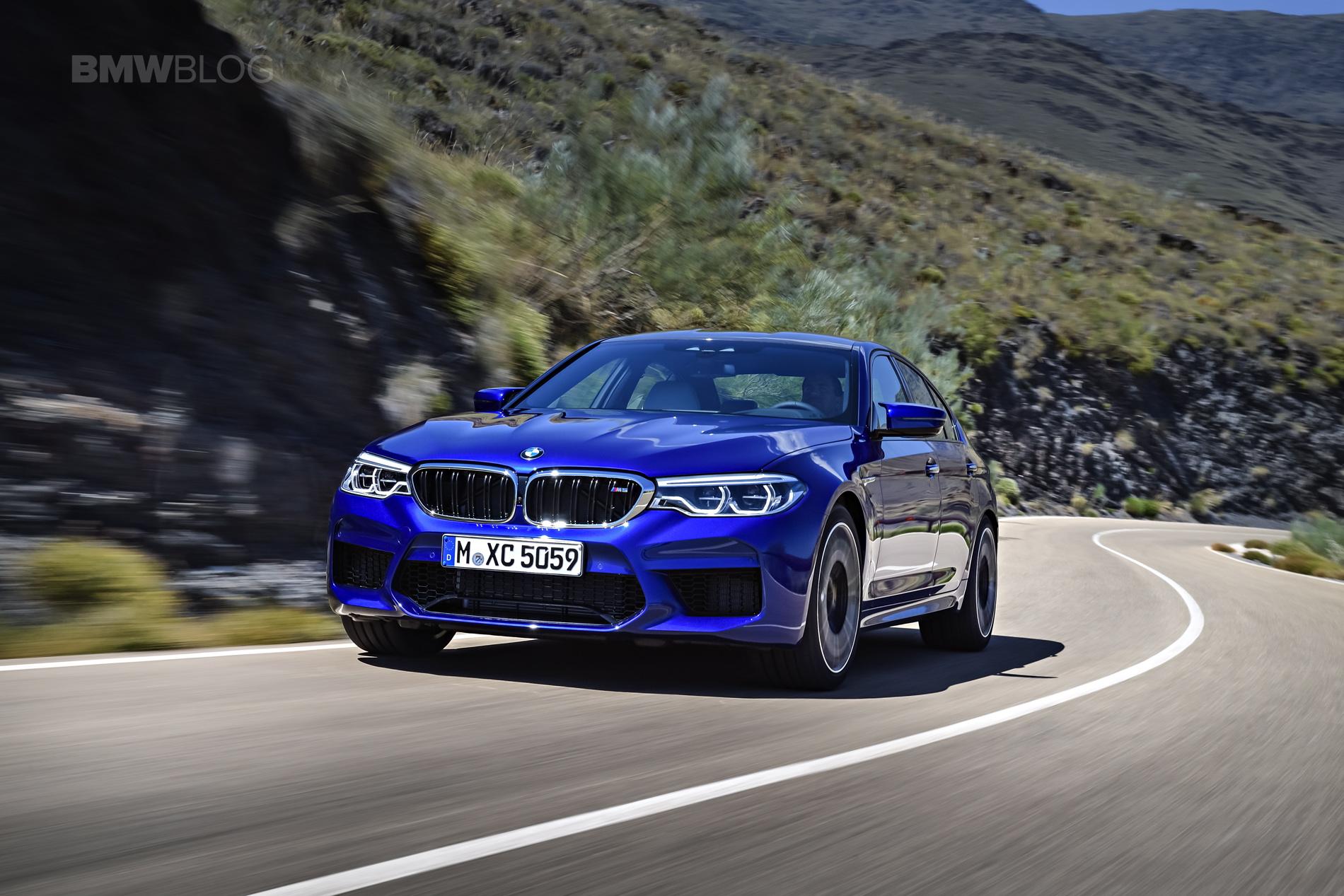 2018 BMW M5 exterior 17
