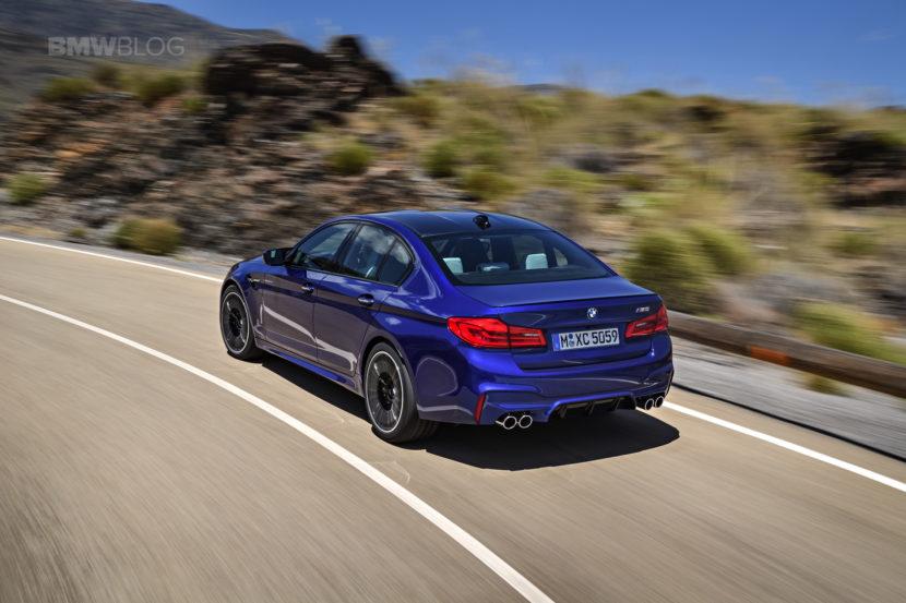 2018 BMW M5 exterior 19 830x553
