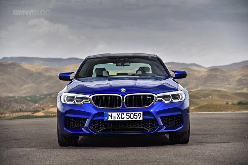 2018 BMW M5 exterior 20 830x553