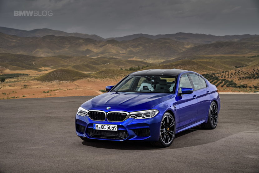 2018 BMW M5 Exterior 21 830x553