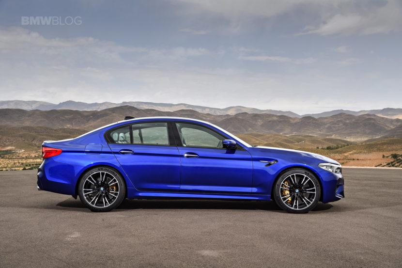 2018 BMW M5 exterior 22 830x553