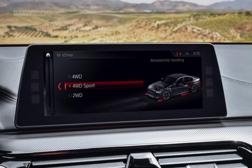 2018 BMW M5 interior 09 830x553