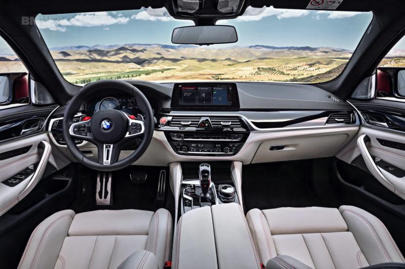 2018 BMW M5 interior 10 830x553