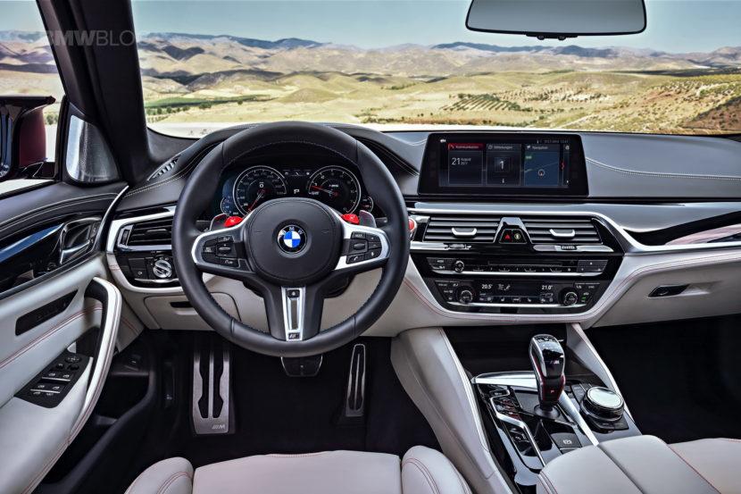 2018 BMW M5 interior 12 830x553