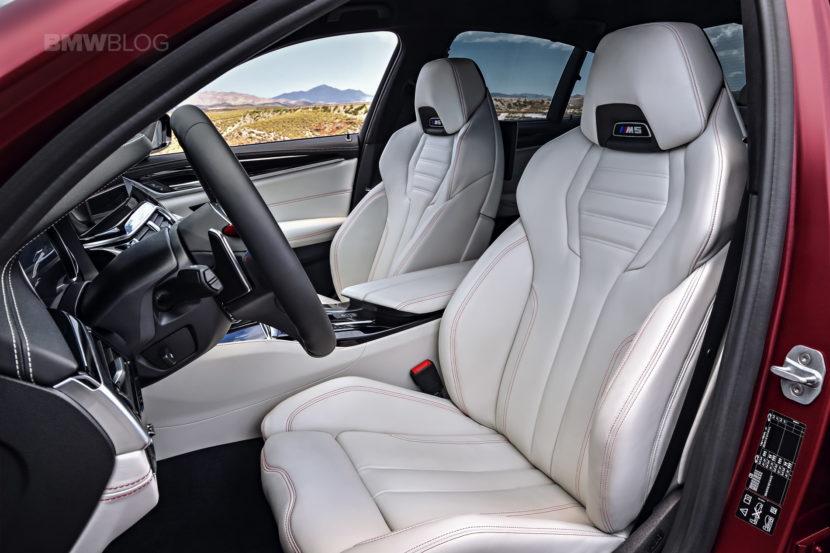 2018 BMW M5 interior 14 830x553