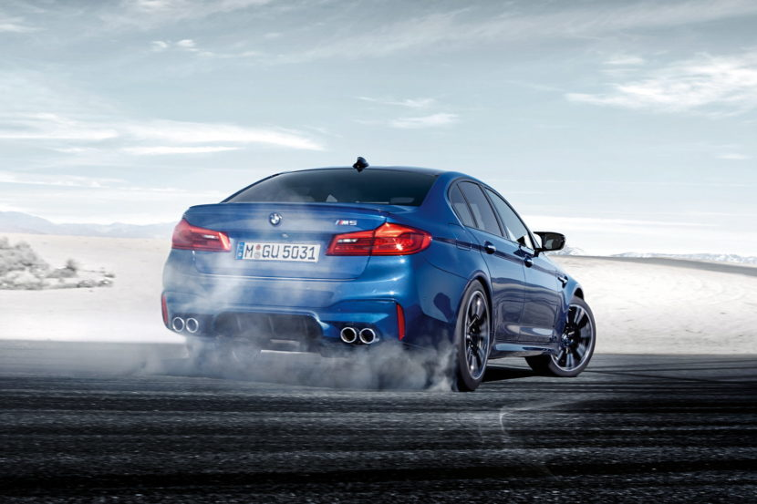 2018 BMW M5 wallpapers 06 830x553