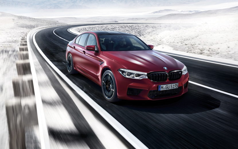 2018 BMW M5 wallpapers 08 830x519
