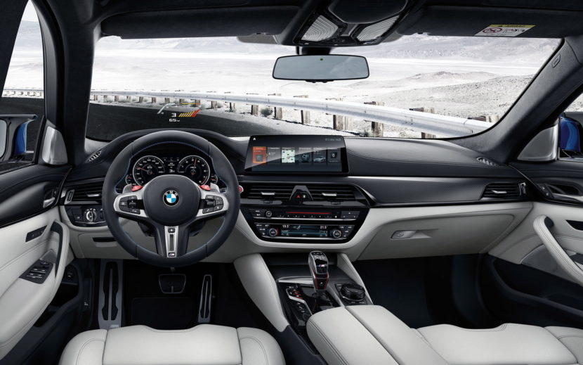 2018 BMW M5 wallpapers 11 830x519