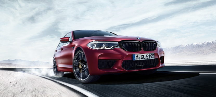 2018 BMW M5 wallpapers 34 830x374