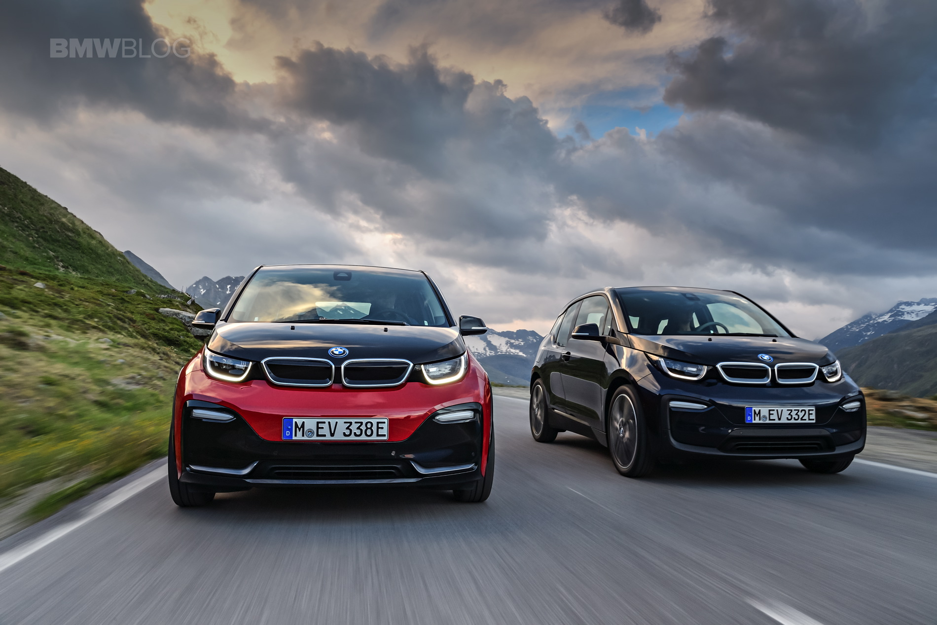 the new bmw i3s and i3 facelift first videos. Black Bedroom Furniture Sets. Home Design Ideas
