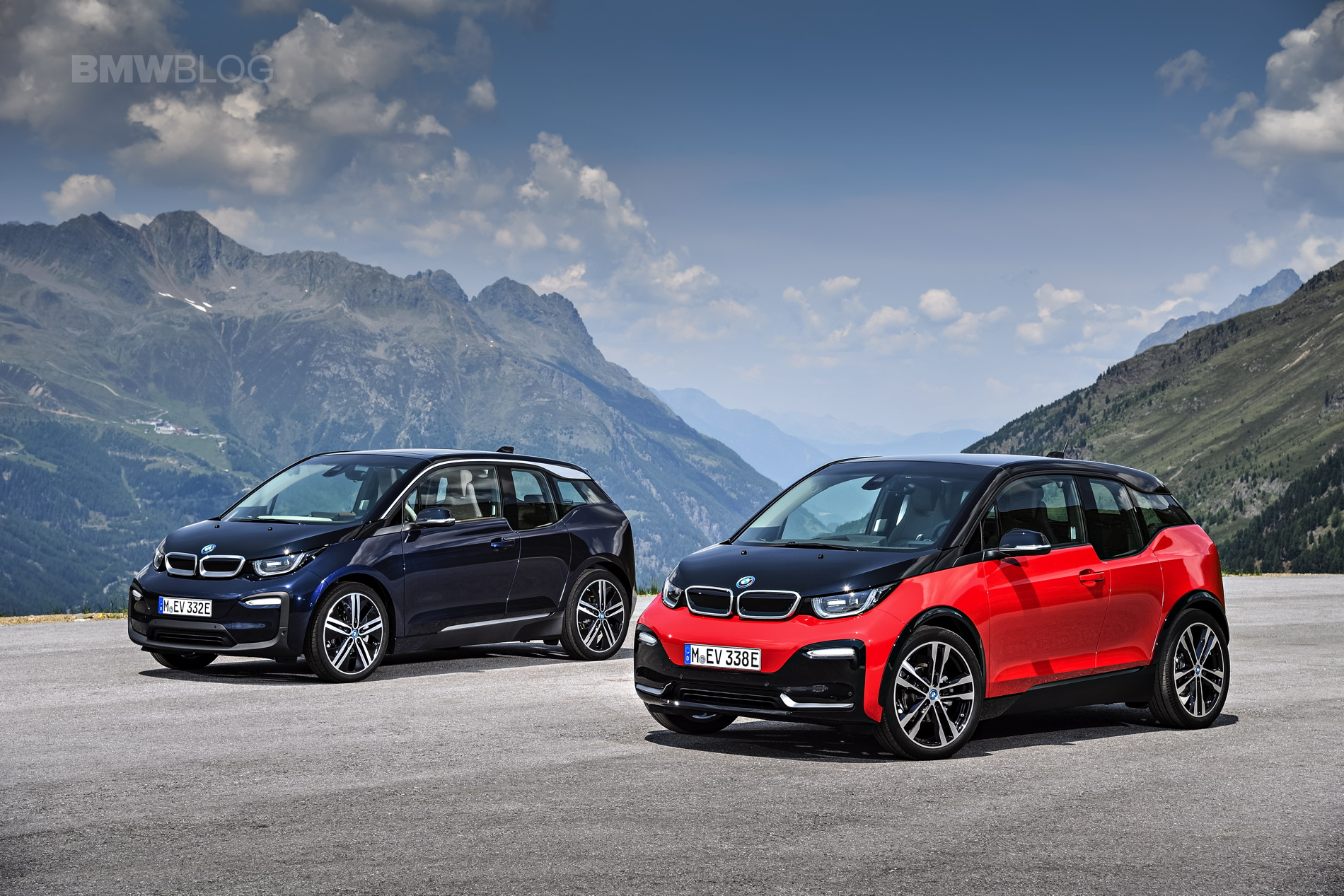 Bmw X5 Alpina >> The new BMW i3s and i3 Facelift - First Videos