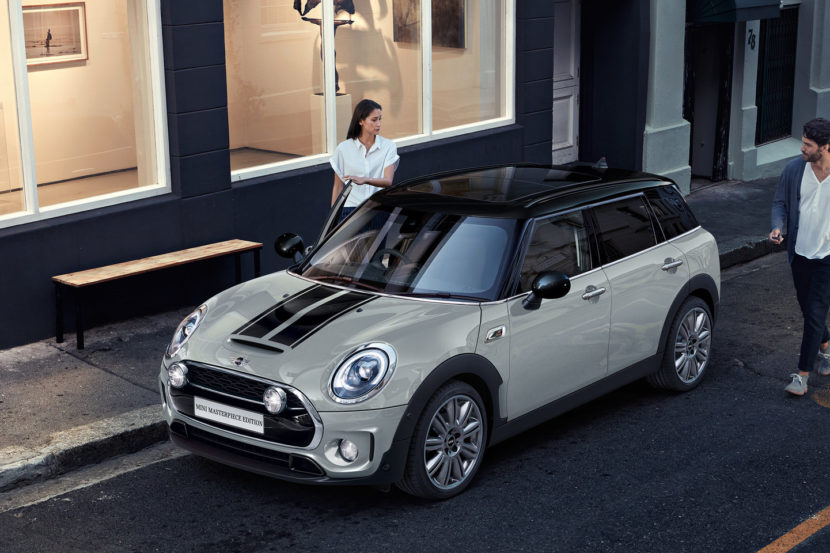 Mini Clubman Masterpiece And Mini Hatch Ice Blue Edition