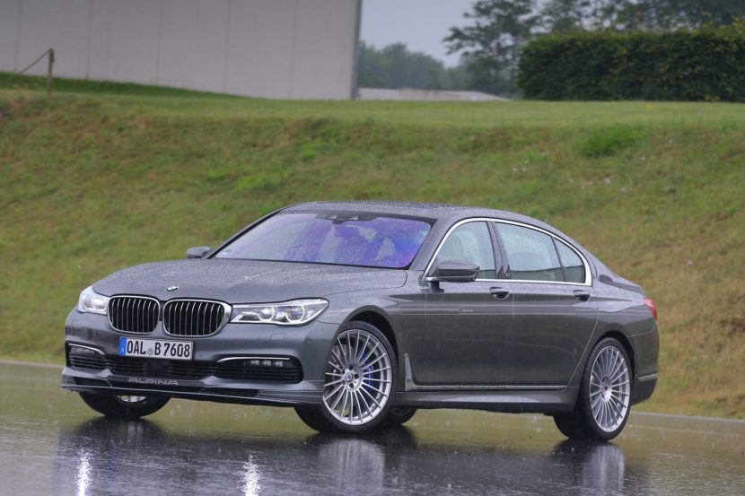 BMW Alpina B7 Now Available in the UK, Starting at £115,000