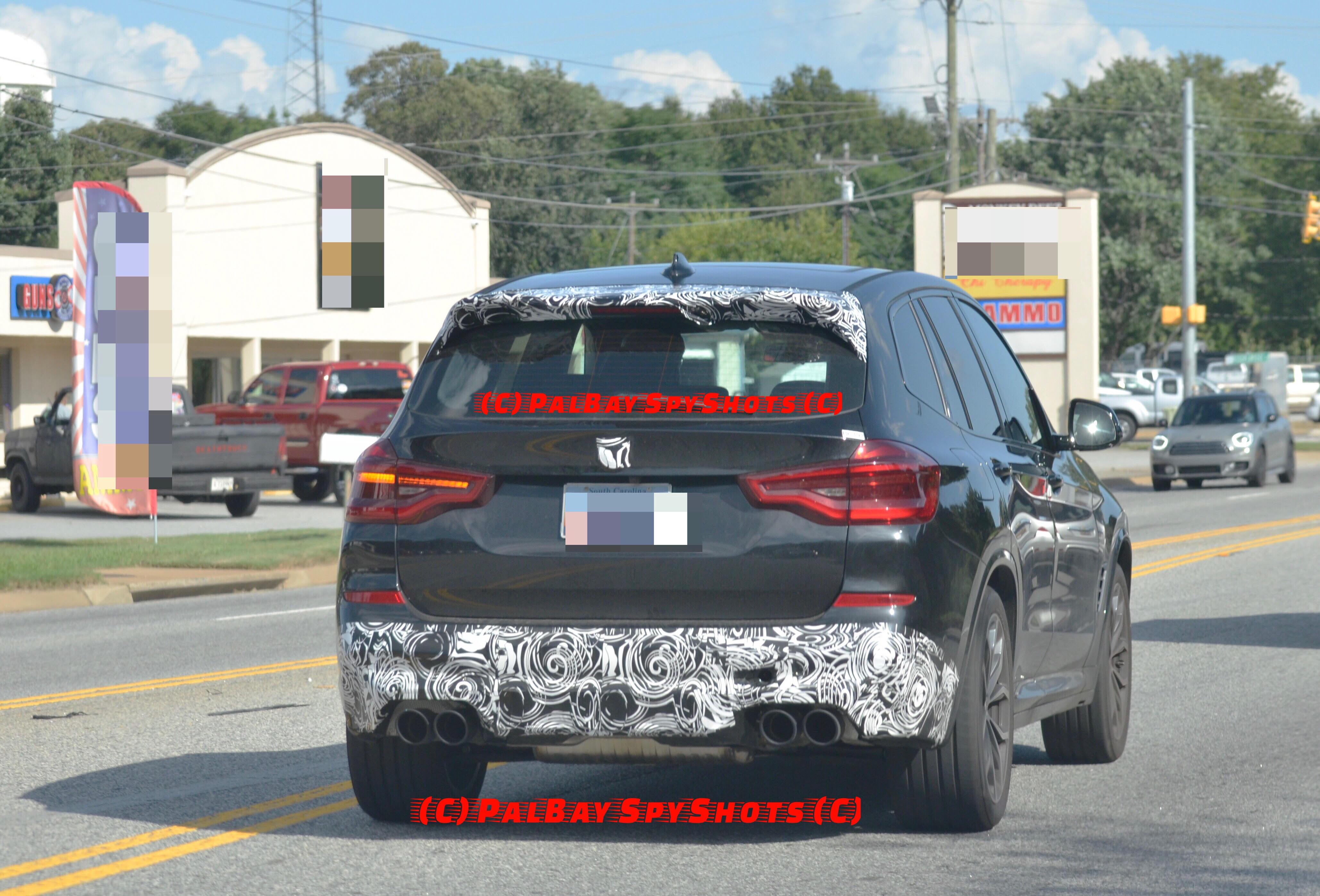 BMW F97 X3M 2018 image 2