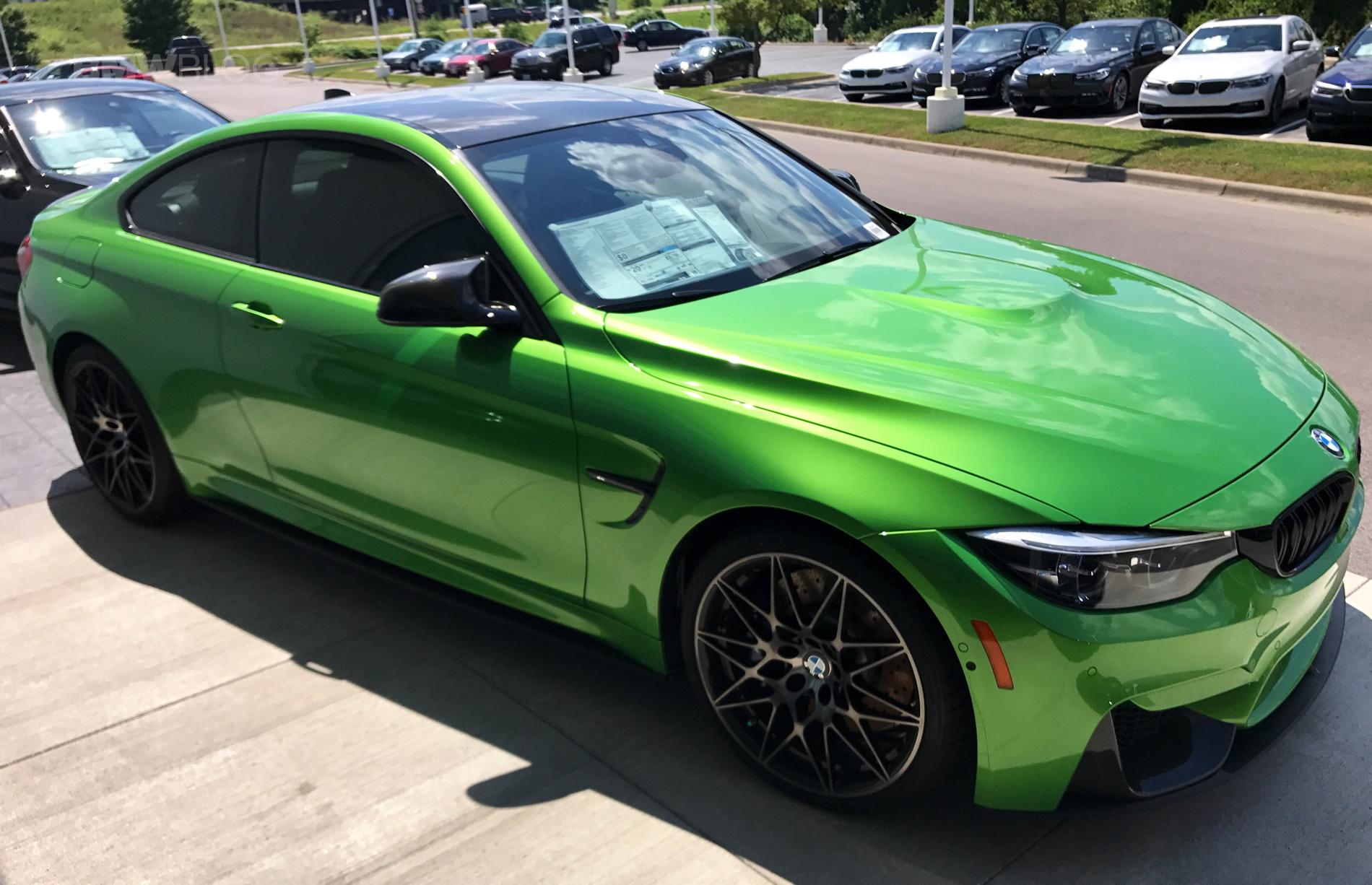 BMW M4 Java Green 06