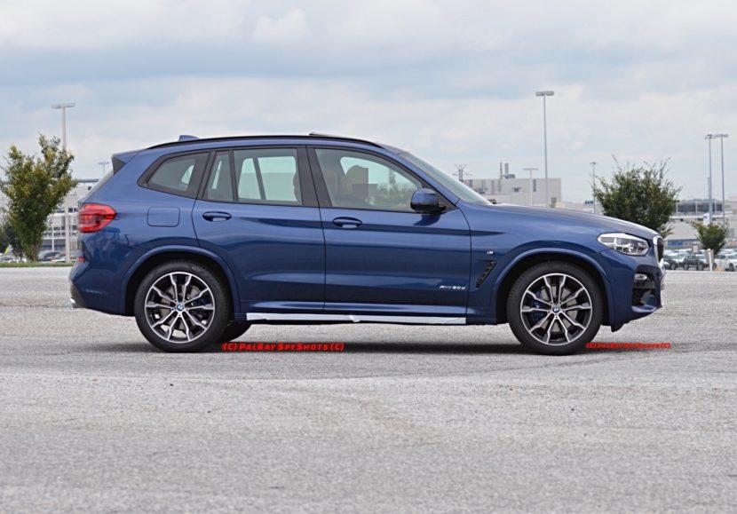 BMW X3 M40i3 830x579