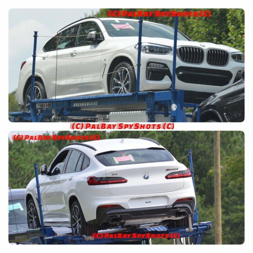 BMW X4 M40d 2018 830x830