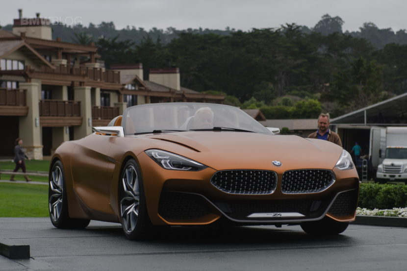 New Bmw Z4 To Be Unveiled At The 2018 Pebble Beach