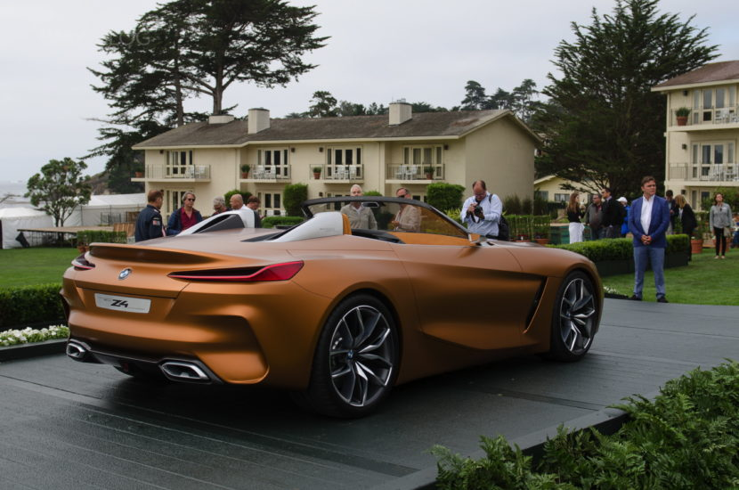 BMW Z4 Concept Pebble Beach 11 830x550