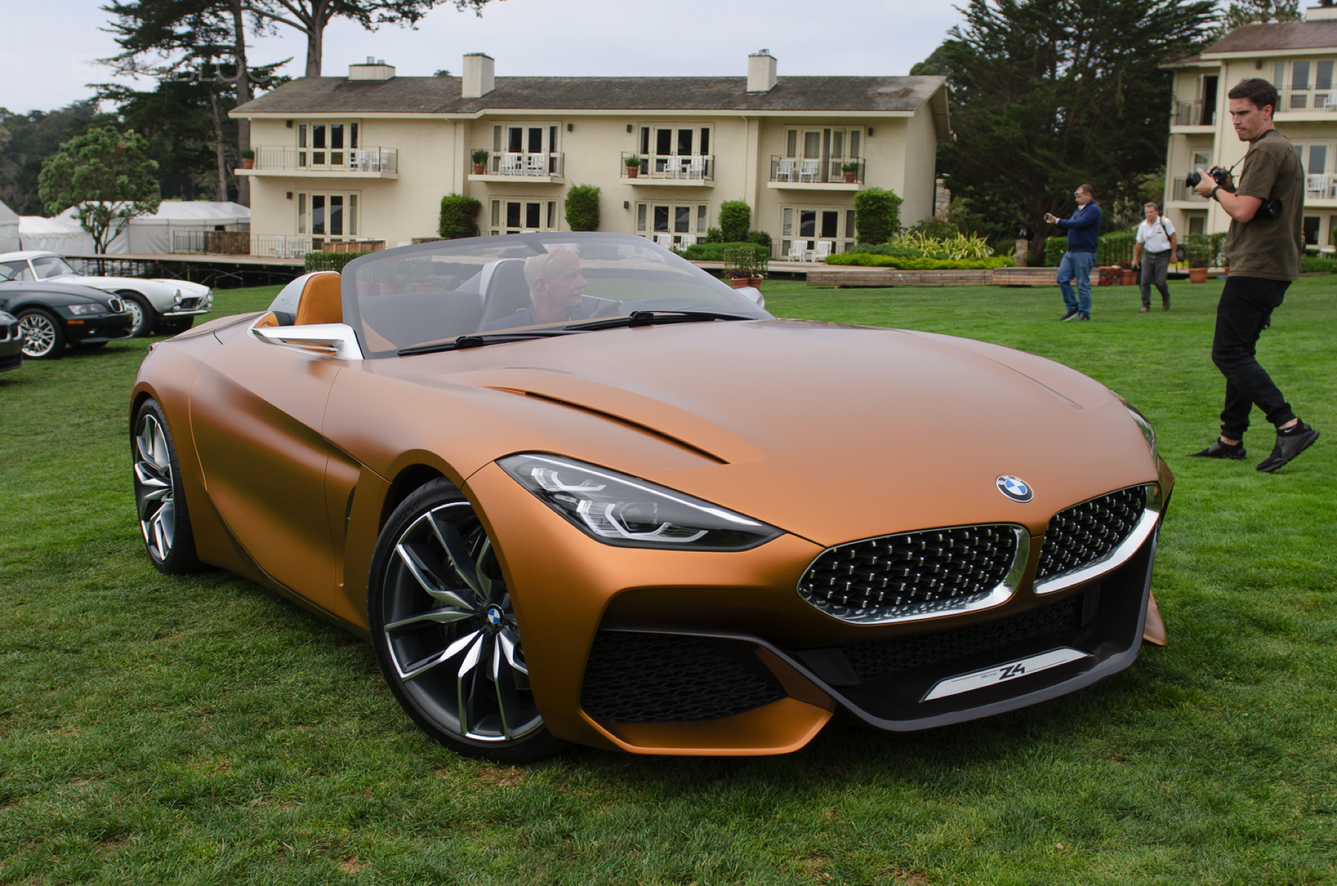 2017 Bmw Z4 Series Price >> First live photos of BMW Concept Z4 at Pebble Beach
