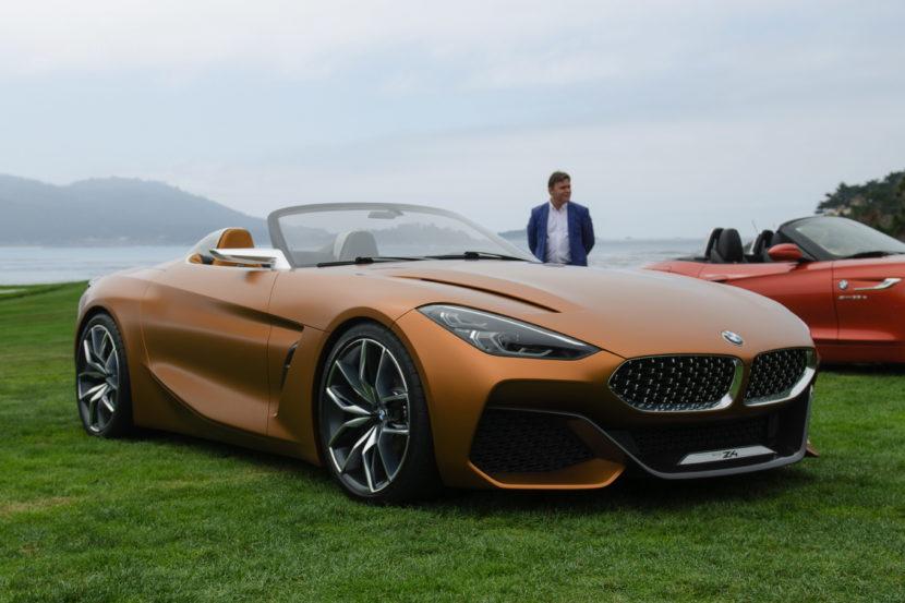 Perfect BMW Z4 Concept Pebble Beach 21 830x553