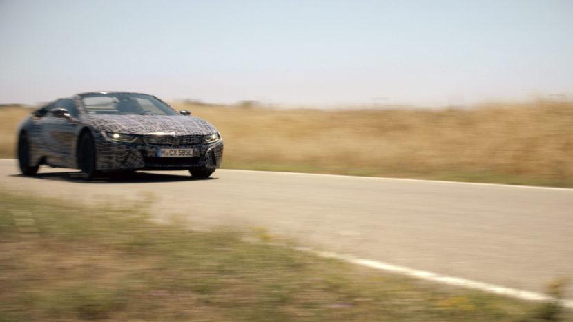 BMW i8 Roadster Teaser 05 830x467