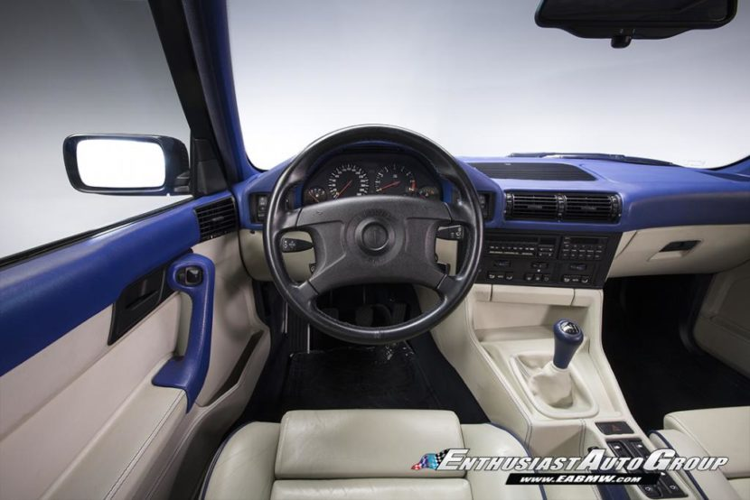 E34 BMW M5 Touring Santorini Blue 4 830x554