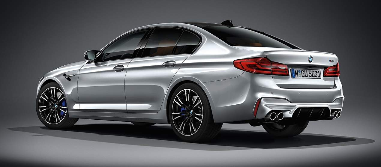 F90 BMW M5 Pure Metal Silver