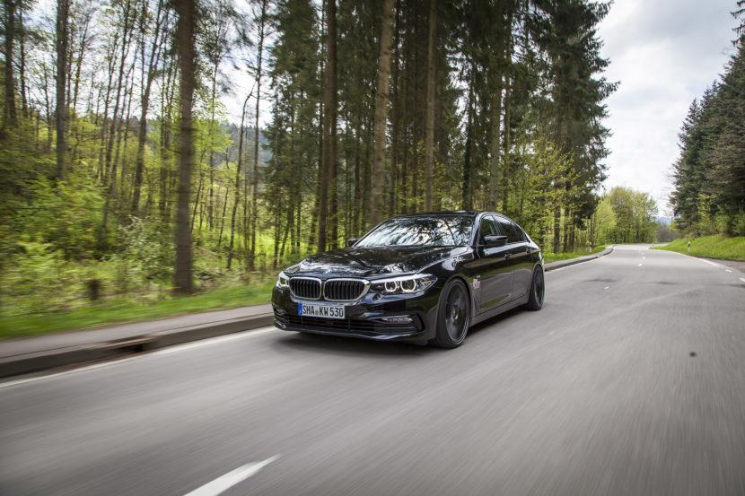 KW V3 BMW 5er G30 Fahraufname 01 830x553
